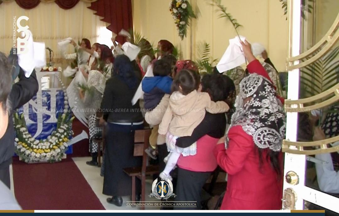 Visita del Apóstol de Jesucristo a La Cañada, Querétaro