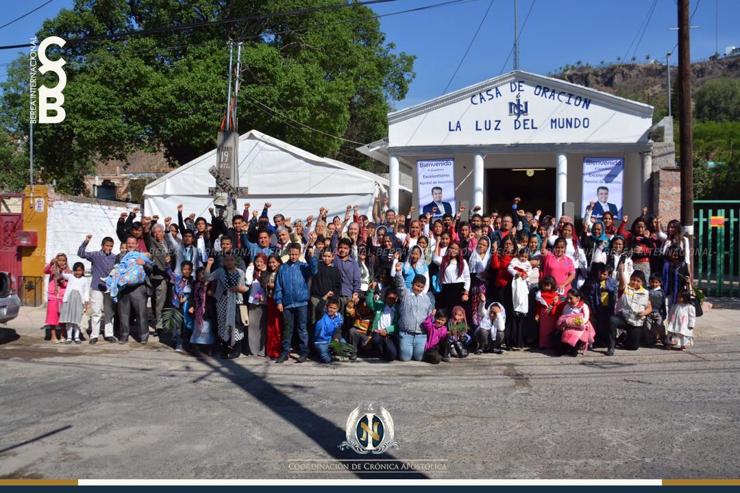 Feliz, Querétaro recibe al Apóstol de Jesucristo, Naasón Joaquín